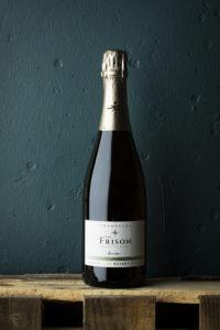 val-frison-champagne-flaska